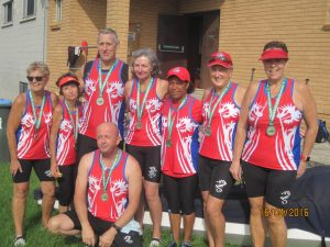 Port Hacking pick up silver medal by one hundreth of a second in regatta at West Lakes inAdelaide.